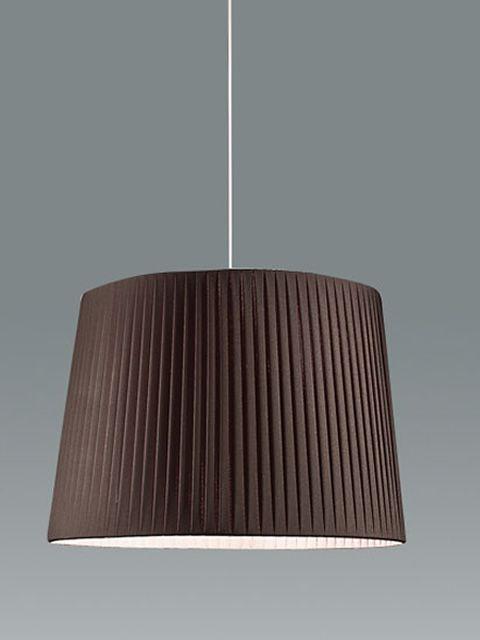 fa2960s pendellampe aus metall und stoff verschiedene verf gbare farben und gr en sediarreda. Black Bedroom Furniture Sets. Home Design Ideas