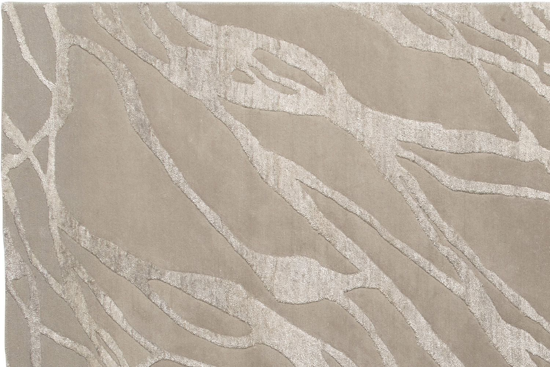 chantal beige designer teppich aus wolle bambus seide. Black Bedroom Furniture Sets. Home Design Ideas