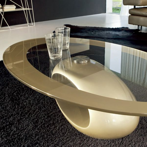 Marble Glass Top Coffee Table: Tonin Casa Coffee Table Made Of Agglomerated