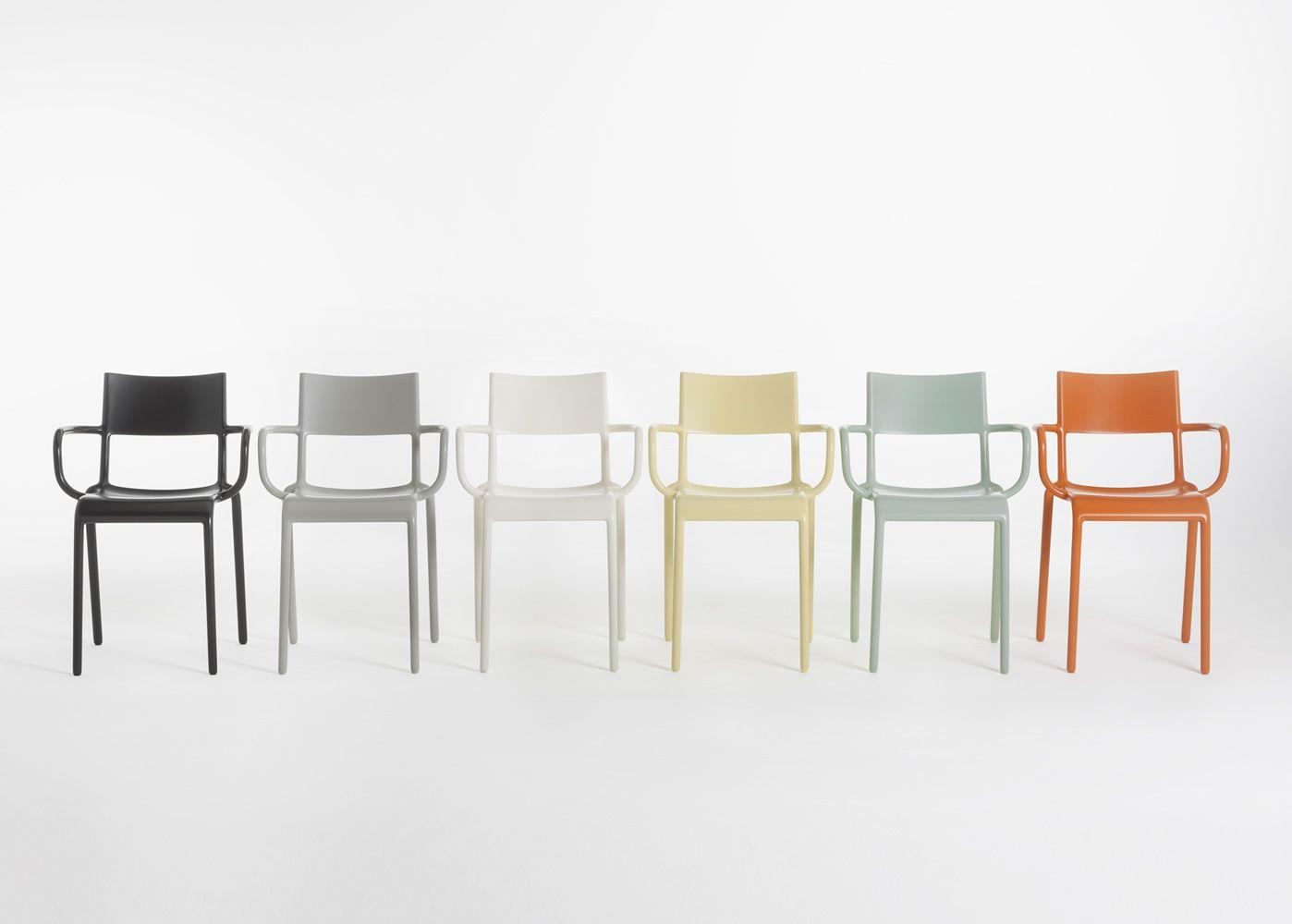 Generic a sedia kartell di design in polipropilene for Sedie di design