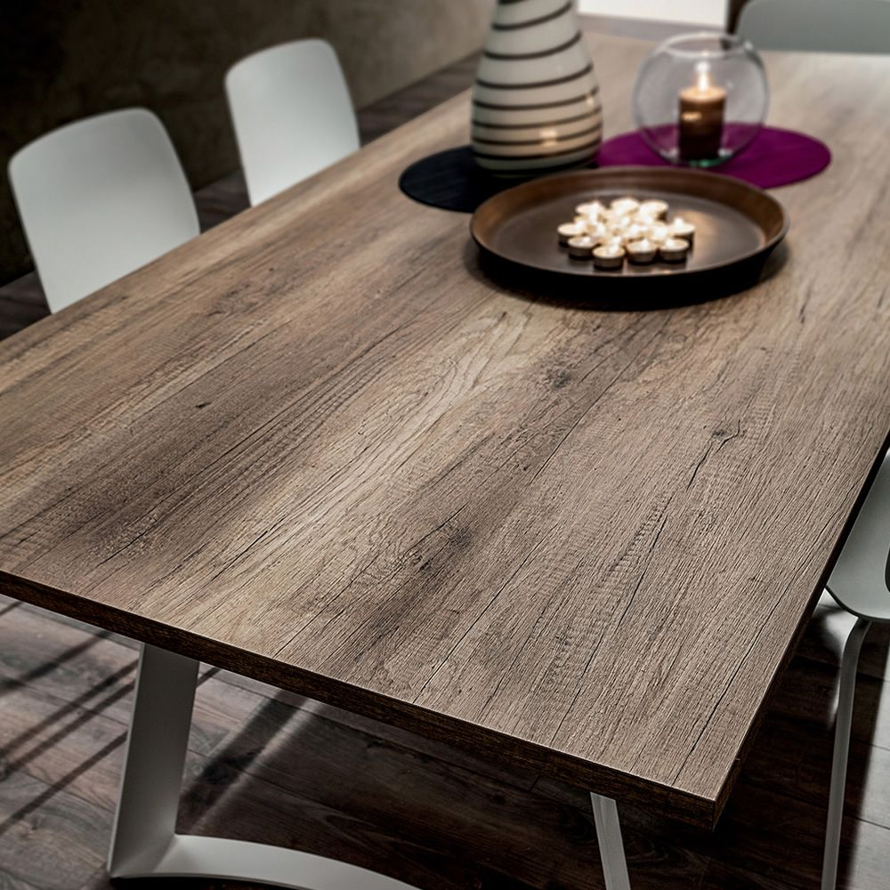 Pa131 metal table with 170x100 or 200x100 cm top for Table 200x100
