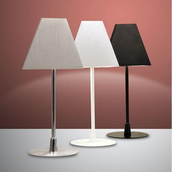 fa3112dt lampada da tavolo in metallo illuminazione led