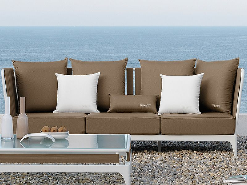 Stripe set set design da giardino divano poltrone tavolino