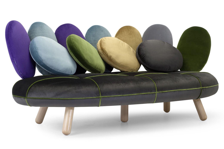 jelly designer sofa adrenalina 3 sitzer mit verschiedenen bez gen verf gbar sediarreda. Black Bedroom Furniture Sets. Home Design Ideas