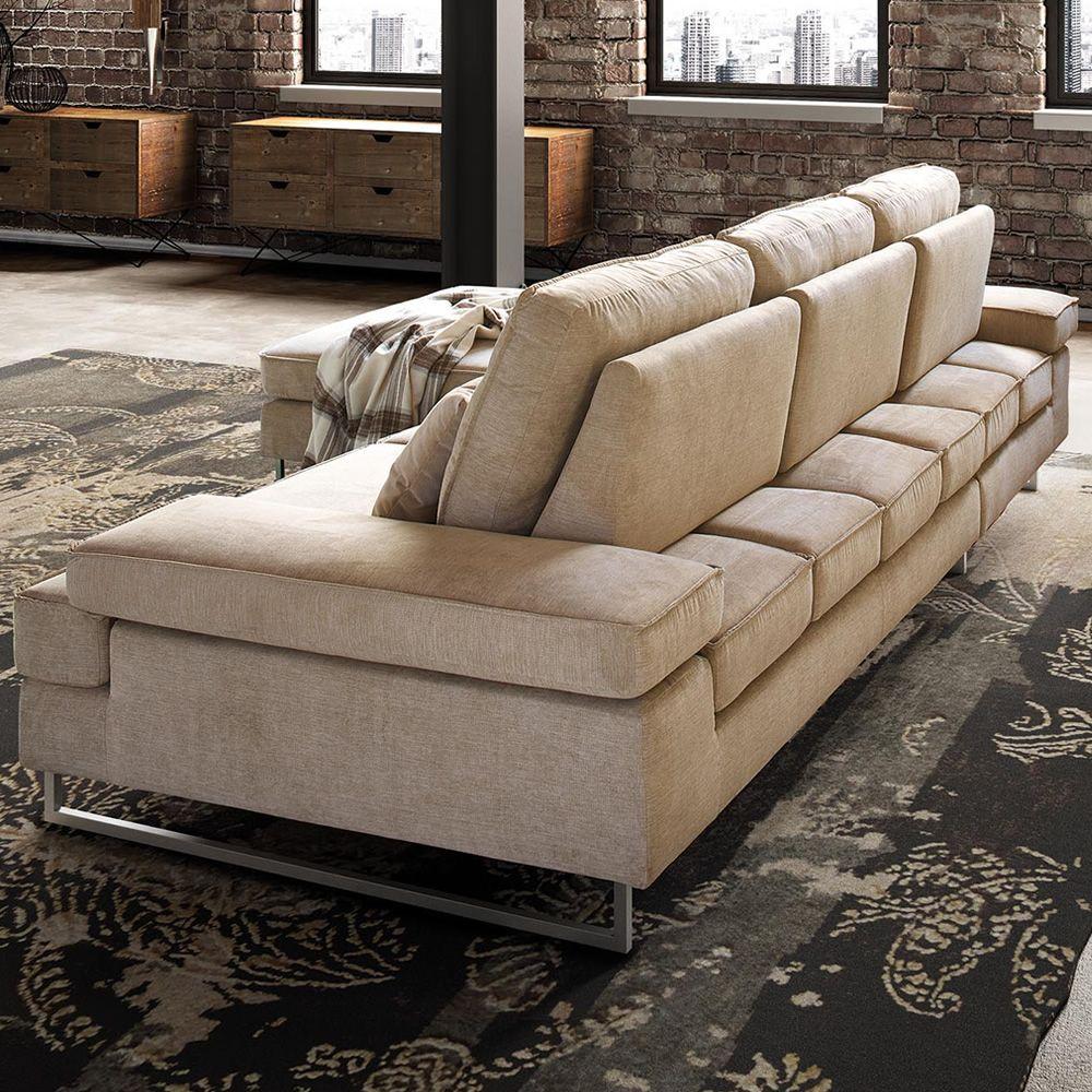 luis canap 2 places ou 3 places dossiers coulissants et accoudoirs inclinables. Black Bedroom Furniture Sets. Home Design Ideas