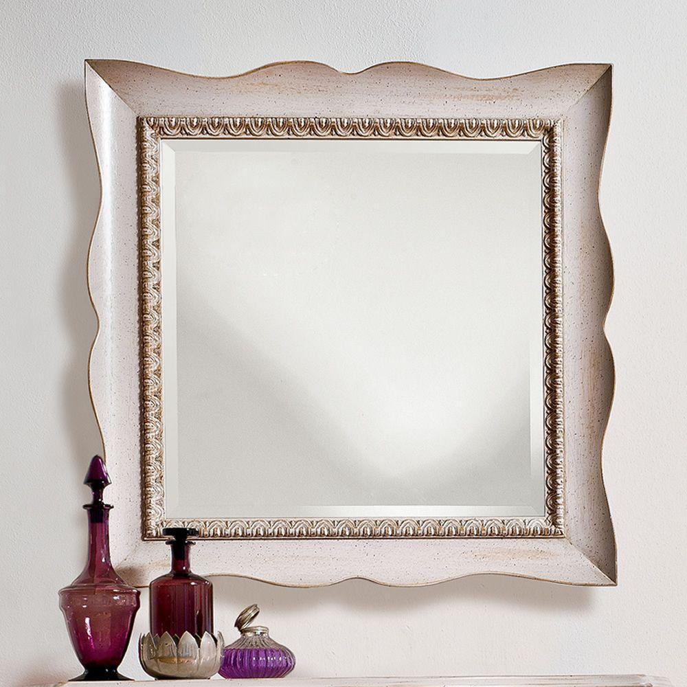 Marte 4955 espejo tonin casa con marco cl sico de madera for Espejo madera envejecida