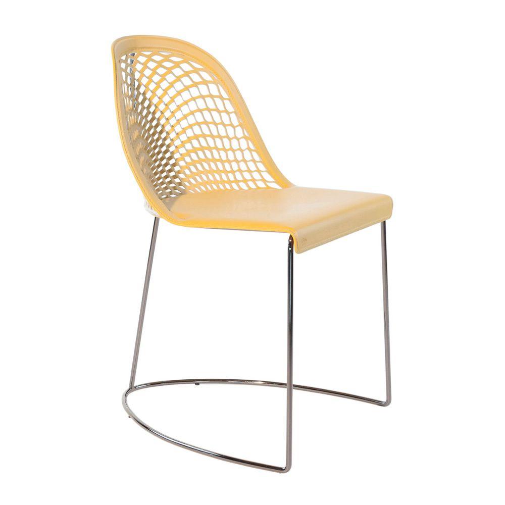 Guapa S Midj Metal Chair Hide Seat Sediarreda Online Sale