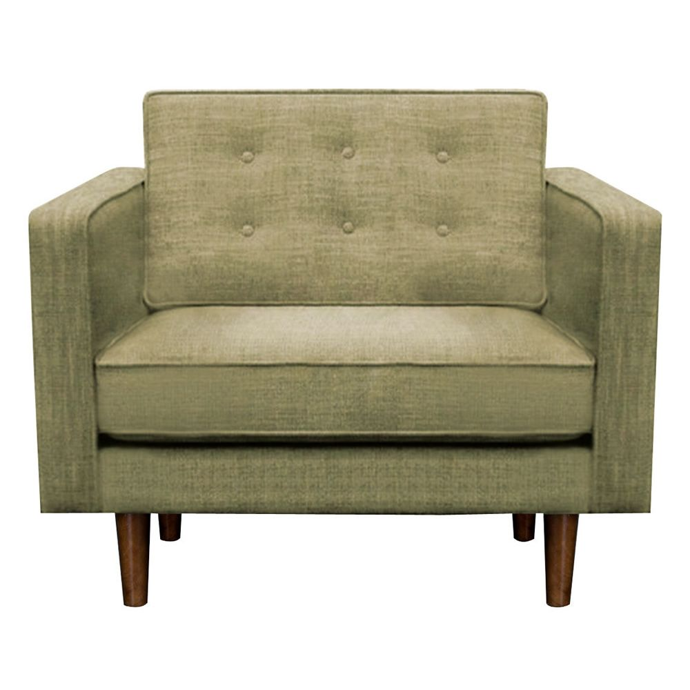 n101 s sessel ethnicraft aus holz gepolstert und mit. Black Bedroom Furniture Sets. Home Design Ideas