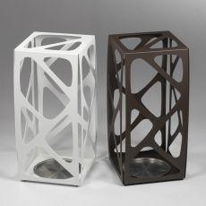 Basket - Portaombrelli in acciaio verniciato disponibile in diversi colori