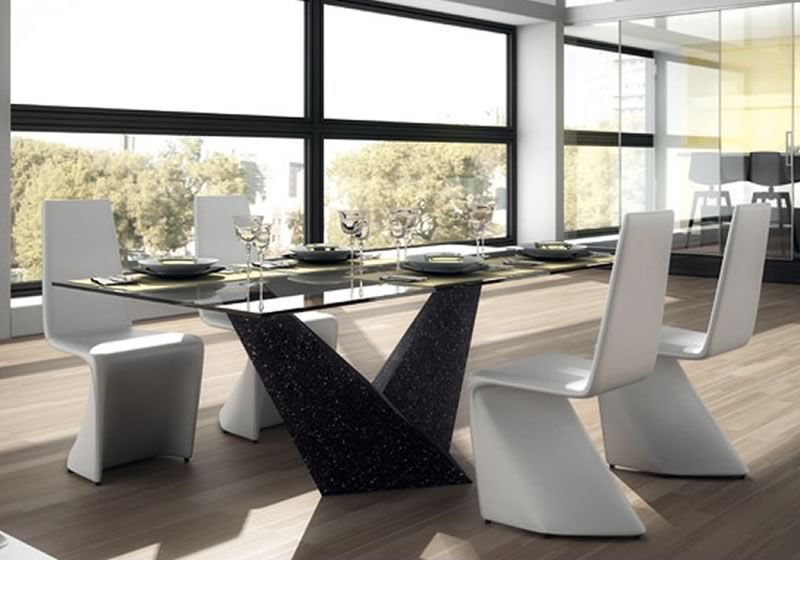 Kasper sedia design interamente rivestita in ecopelle for Sedia design ecopelle bianca