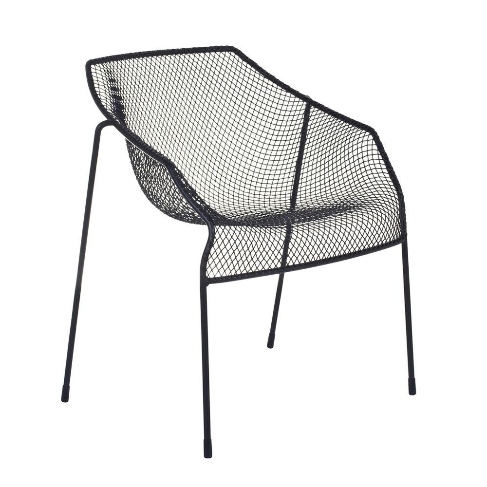 heaven p fauteuil emu en m tal empilable aussi pour. Black Bedroom Furniture Sets. Home Design Ideas