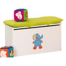 Gigi & Lele P - Box portagiochi Pali con cuscino