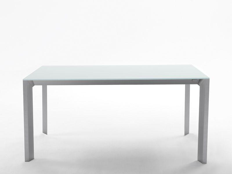 apollo verl ngerbarer tisch midj aus metall platte aus holz glas oder kristall keramik. Black Bedroom Furniture Sets. Home Design Ideas