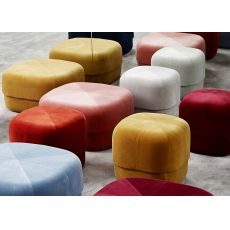 Circus - Normann Copenhagen pouf with velvet covering, different colours and sizes available