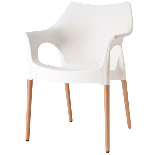 natural ola 2115 fauteuil en bois et technopolym re empilable disponible en diff rentes. Black Bedroom Furniture Sets. Home Design Ideas