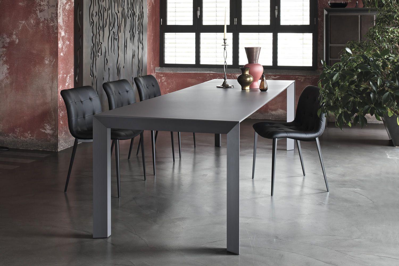 Genio designer tisch bontempi casa 140 240 x90 cm for Designer tisch 140