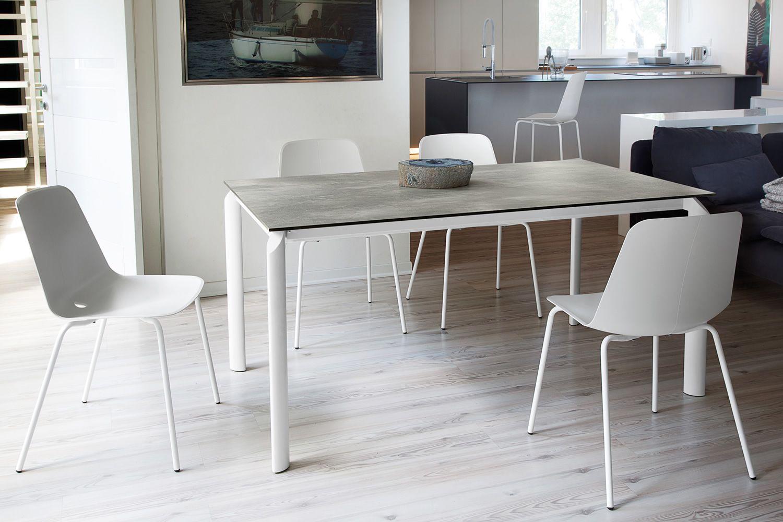 energy 160 tisch domitalia aus metall mit verschiedenen platten verf gbar 160 x 90 cm. Black Bedroom Furniture Sets. Home Design Ideas