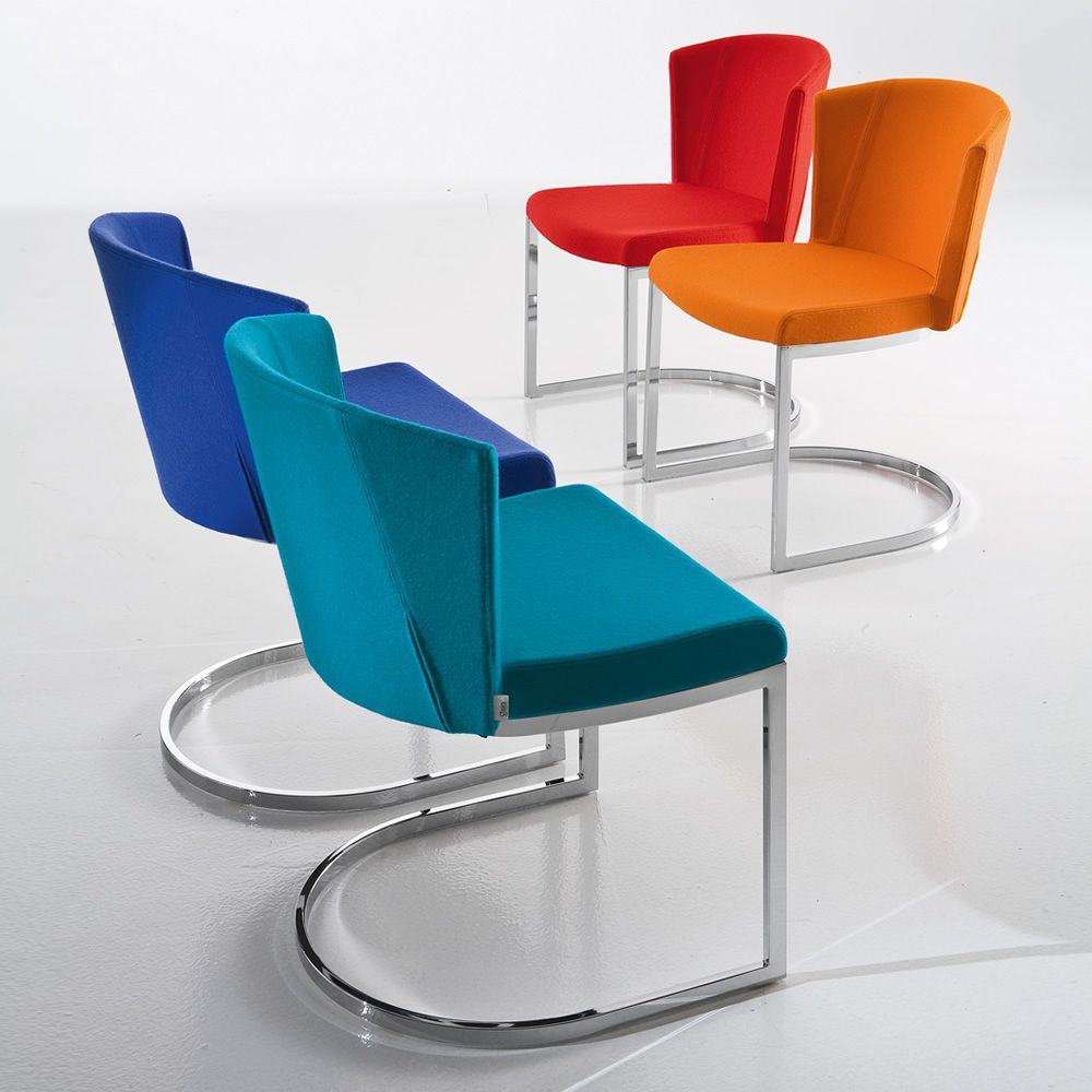 so chic sl sedia di design chairs more in metallo con