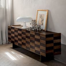6121 Madia Colosseo - Tonin Casa sideboard made of wood and metal, different sizes available