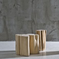 Brick - Tavolino Gervasoni, in legno massello, disponibile in diverse dimensioni