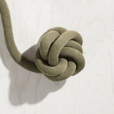 Knot VB - Cuscino di design in tessuto