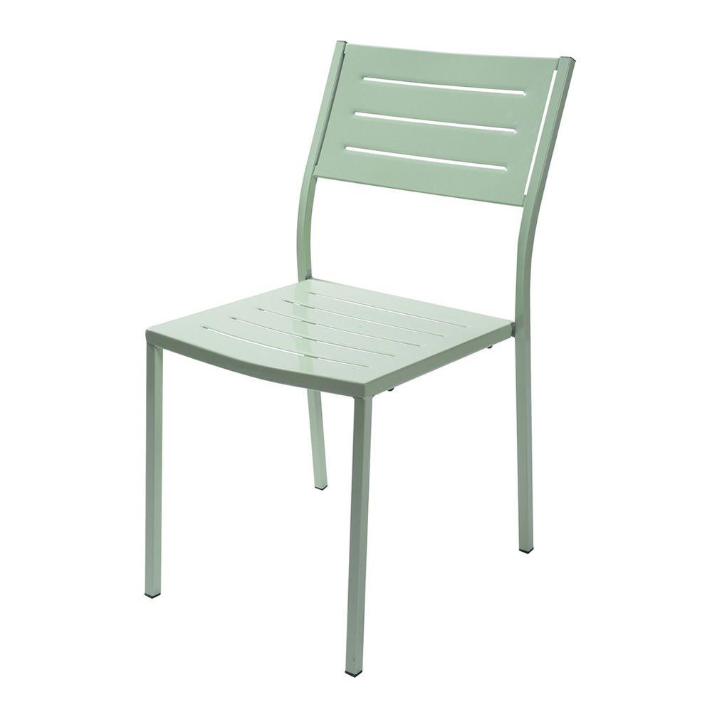 Rig72 para bare y restaurantes silla met lica apilable for Sillas para exterior