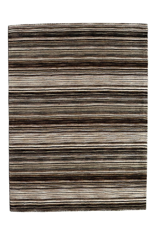 Handloom 111 Moderner Teppich aus reinem Wolle