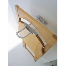 CB508 Hook - Connubia - Calligaris metal hook for chairs