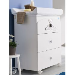 Meggie F: Pali Changing Table Baby Bath, With 3 Drawers   Sediarreda Online  Sale