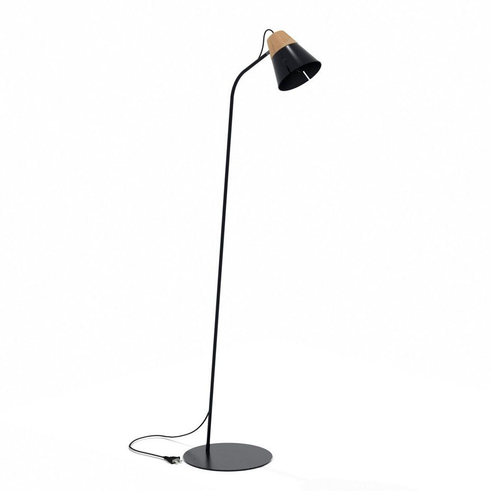 lampenschirm stehlampe schwarz. Black Bedroom Furniture Sets. Home Design Ideas