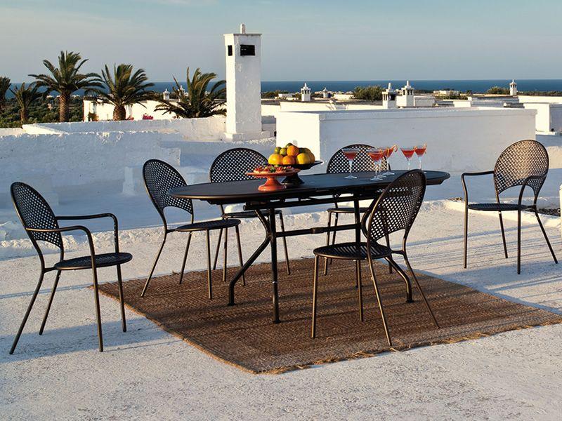 Sole p para bare y restaurantes sill n de metal para for Modelos de sillas de metal