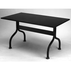 Achille 2701 - Metal table for garden, 160x85 cm