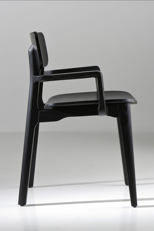 cacao designer stuhl von chairs more aus holz in. Black Bedroom Furniture Sets. Home Design Ideas