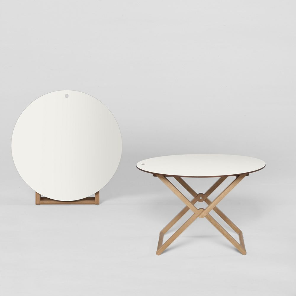 treee mini table oval round square niedriger tisch klappbar in verschiedenen forme. Black Bedroom Furniture Sets. Home Design Ideas