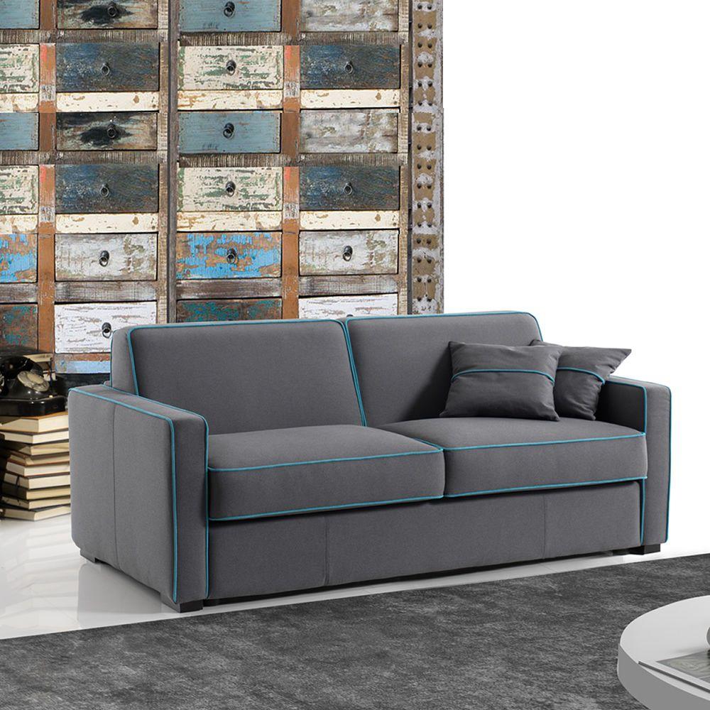 pungitopo - divano letto a 3 posti o 3 posti xl, completamente