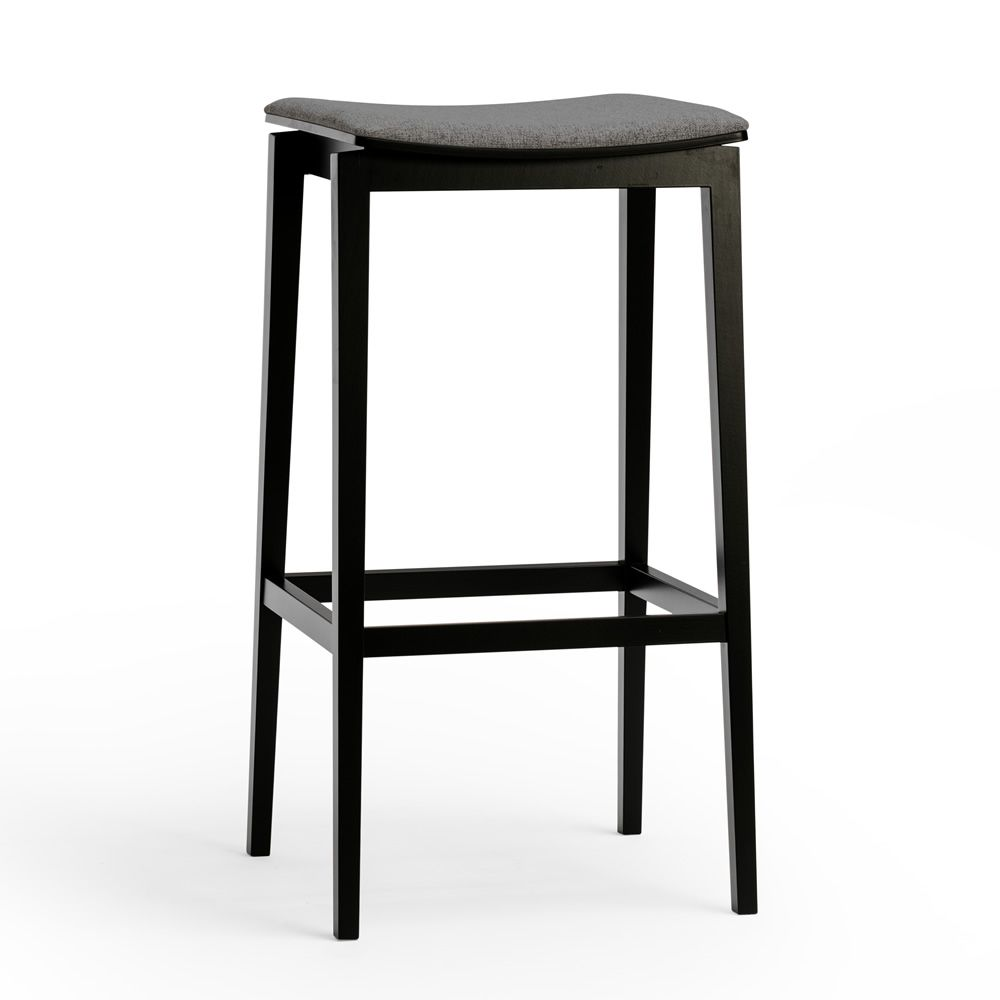 stockholm stool hocker ton aus holz mit gepolstertem. Black Bedroom Furniture Sets. Home Design Ideas