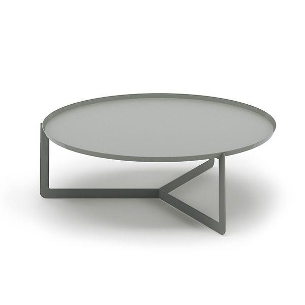 Round2 table design ronde en m tal disponible en for Table ronde design diametre 80 cm