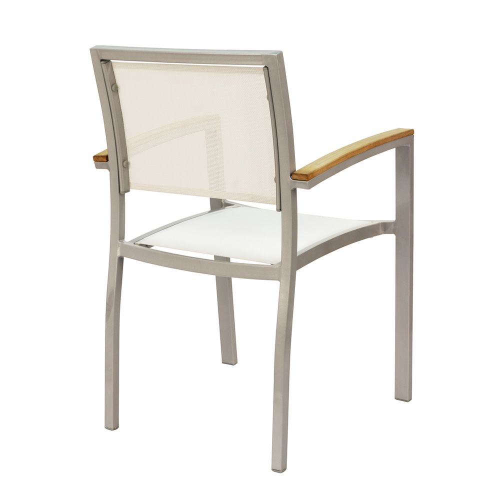 Chaise alu exterieur chaise exterieur bois table et for Table chaise exterieur