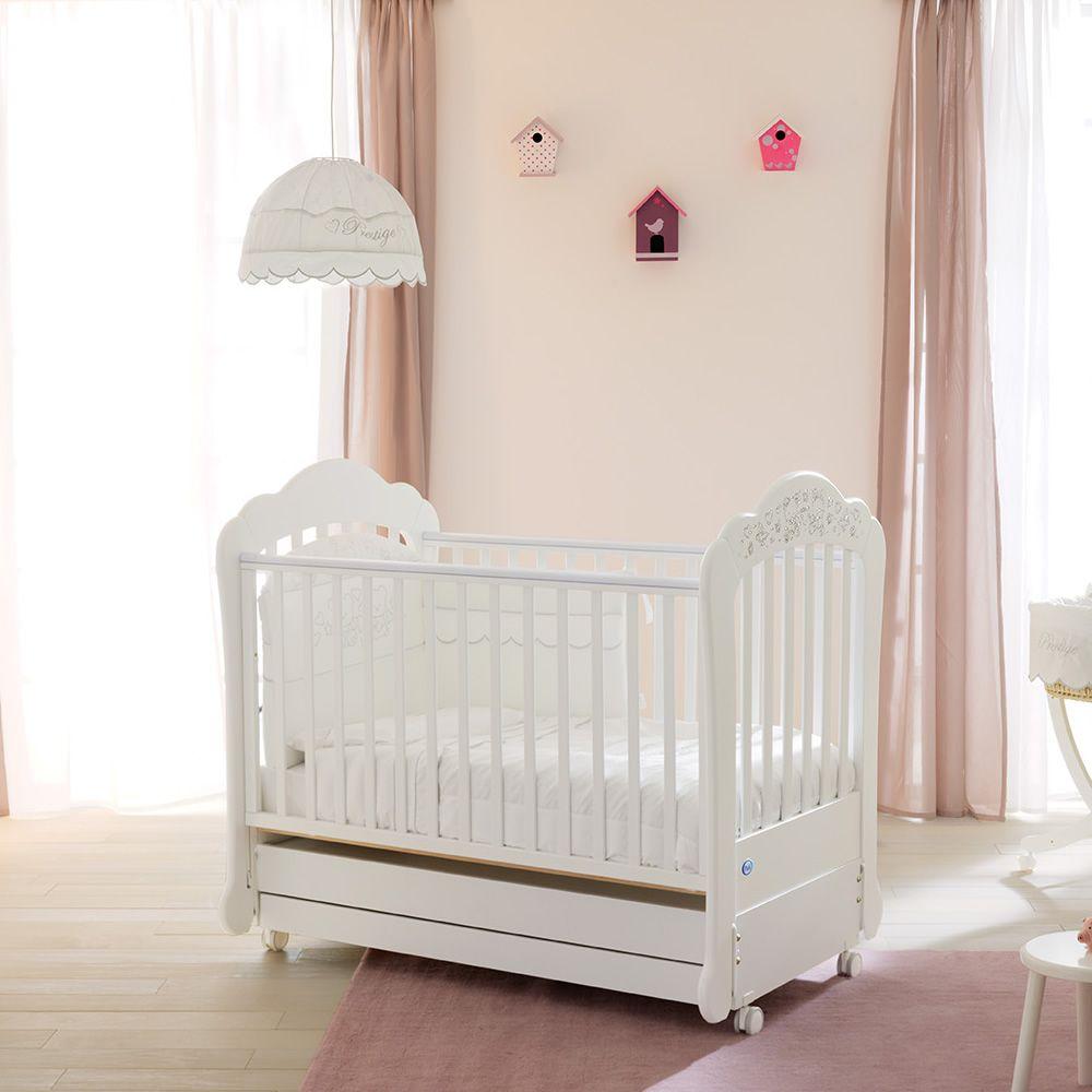 Lit Bébé En Bois Avec Tiroir : Sofia lit basculant bébé de pali en bois avec tiroir