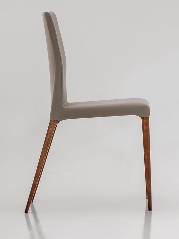 aragona 7209 stuhl tonin casa aus holz mit leder stoff oder kunstleder bezogen abnehmbar. Black Bedroom Furniture Sets. Home Design Ideas