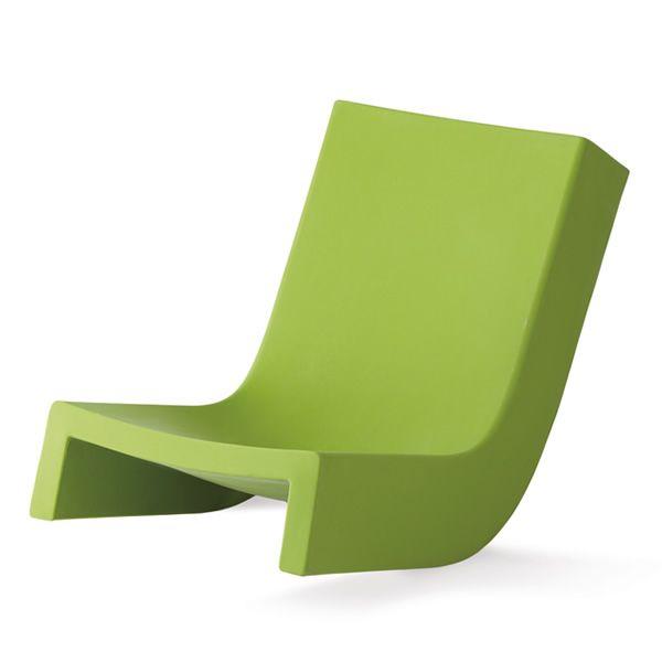 Twist poltroncina a dondolo slide in polietilene - Poltrona a dondolo di design ...