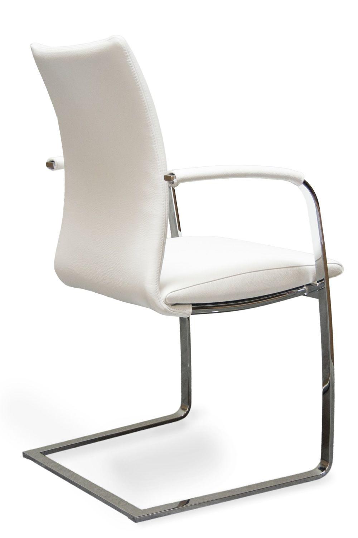 Swing P - Sedia design di Tonon, struttura a slitta in metallo ...