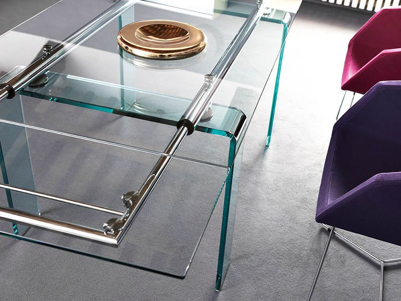 Mambo Table Midj Structure En M Tal Ou Verre Plateau En