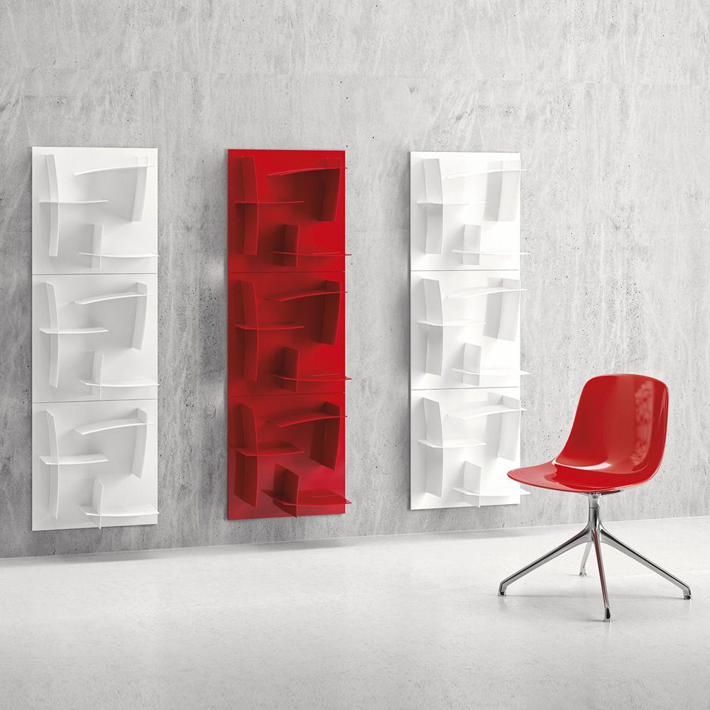 Arigatò - Libreria di design modulare Infiniti, in tecnopolimero ...