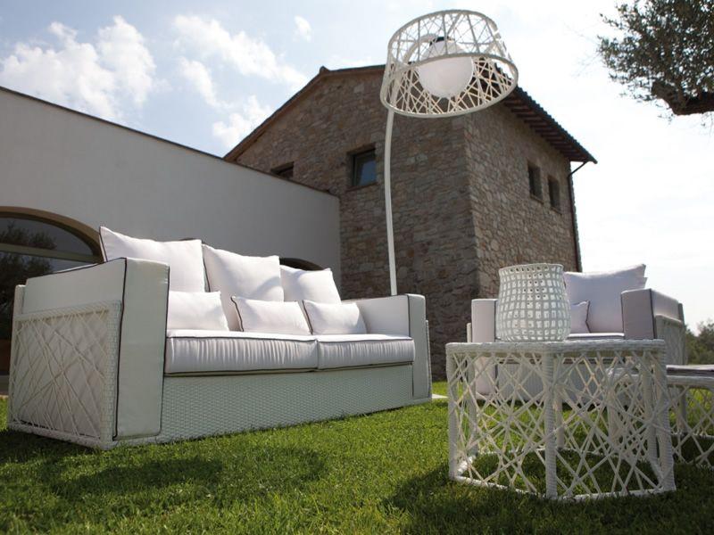 Spider set set design da giardino divano 2 poltrone 2 - Set divano giardino ...