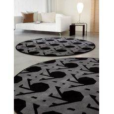 7102 Lienz - Calligaris round rug in wool, diameter 220 cm