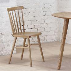 Ironica - Silla Ton de madera de roble