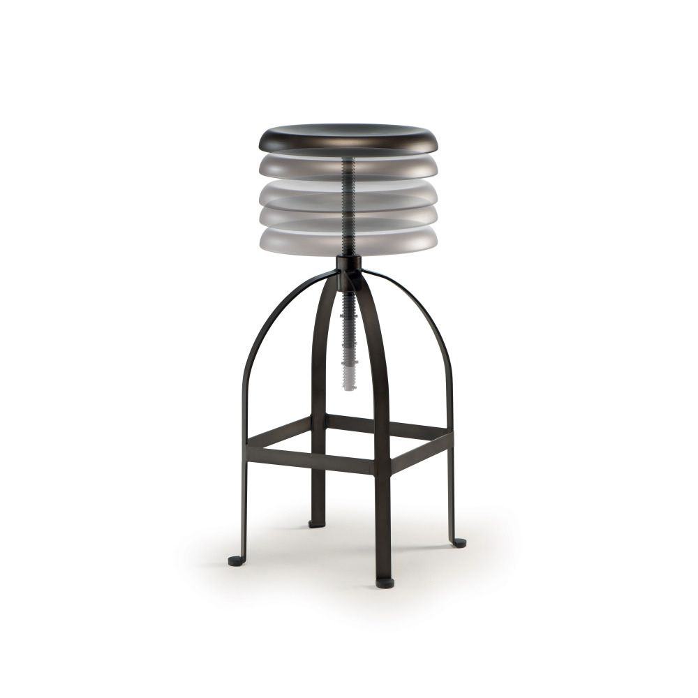 tt883 drehbarer und h henverstellbarer hocker aus metall sediarreda. Black Bedroom Furniture Sets. Home Design Ideas