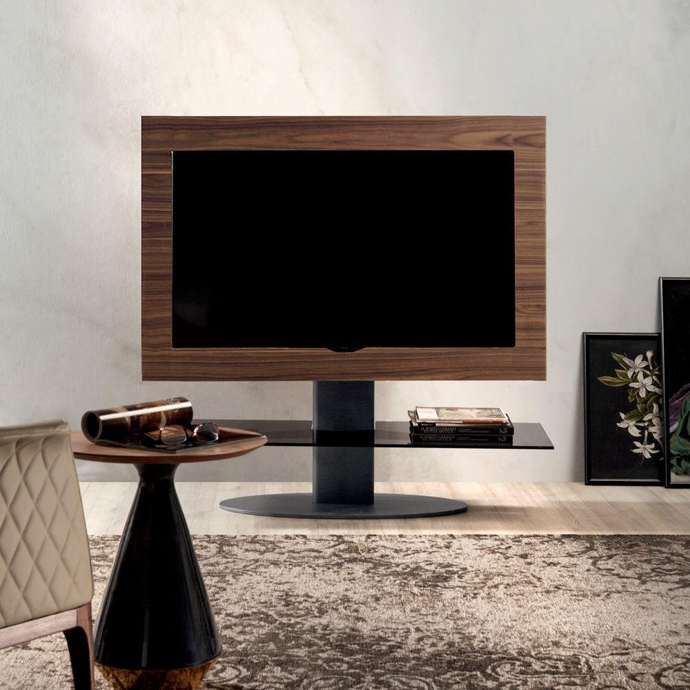 Cortes 7095 Tv Mobel Tonin Casa Aus Holz Und Metall Mit Glasfach