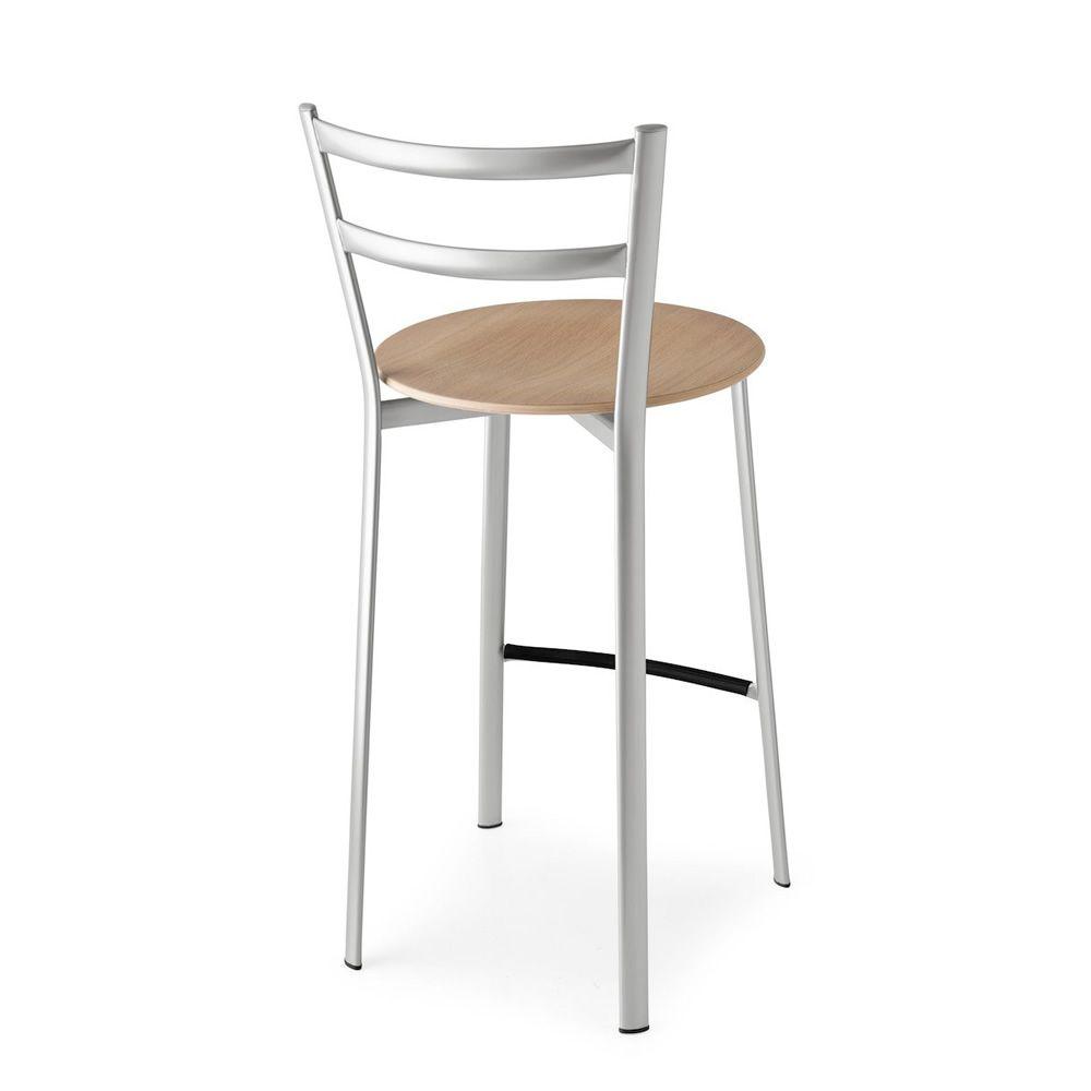 cb76 x press metallhocker connubia calligaris sitzh he 65 cm sediarreda. Black Bedroom Furniture Sets. Home Design Ideas